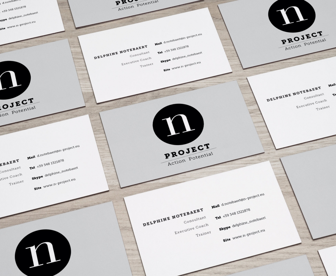 N Project – Visit Card